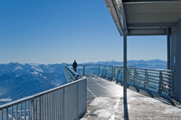 Skywalk am Dachstein-Gletscher